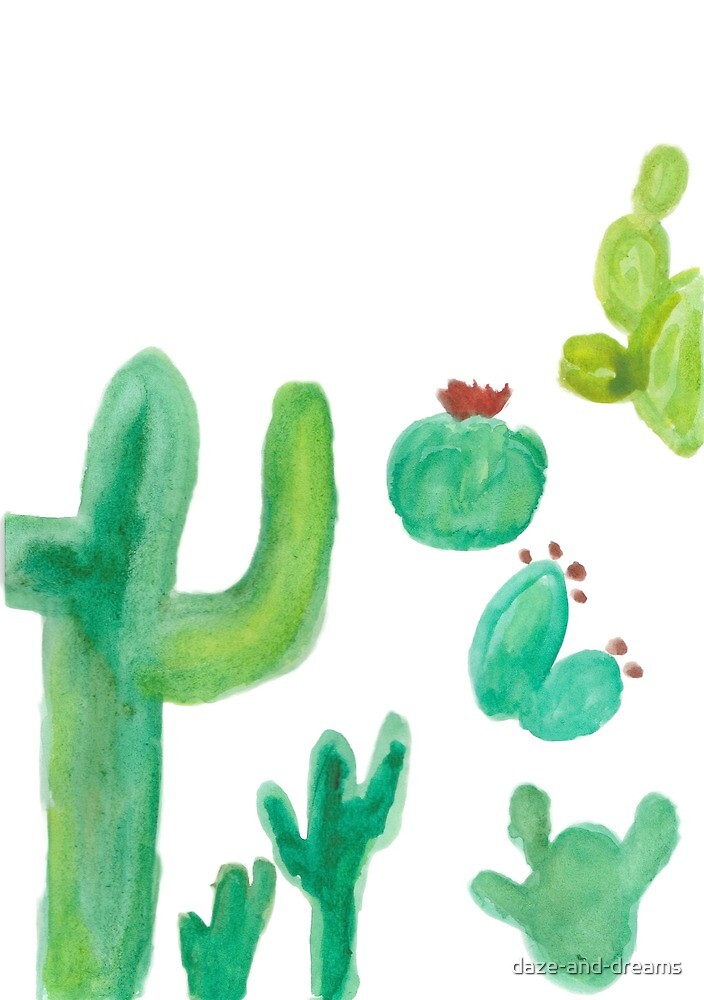 Cactus love by daze-and-dreams