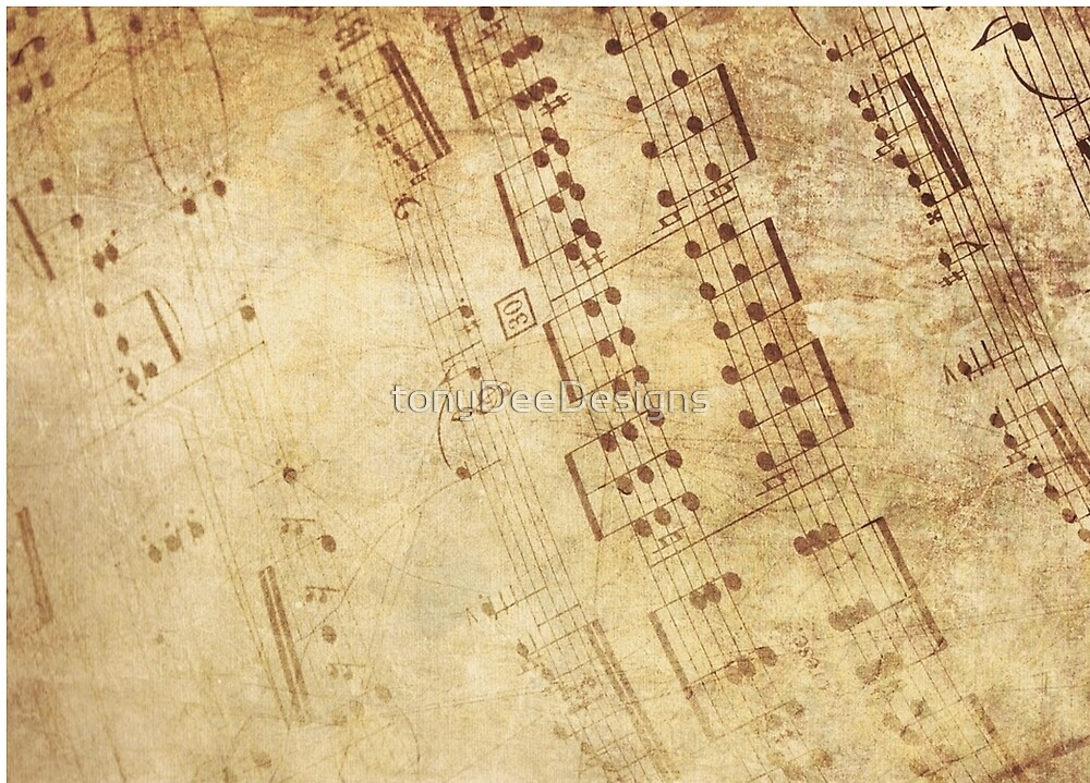 musical notes by tonyDeeDesigns