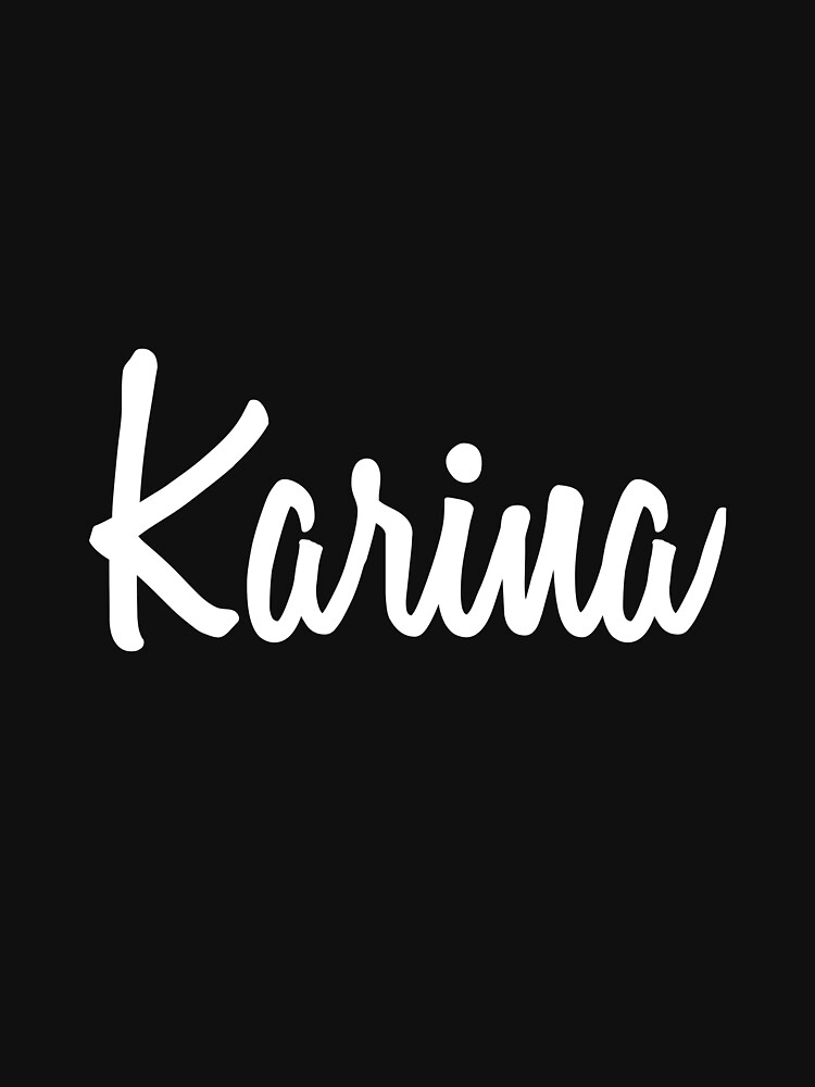 Hey Karina buy this now by namesonclothes
