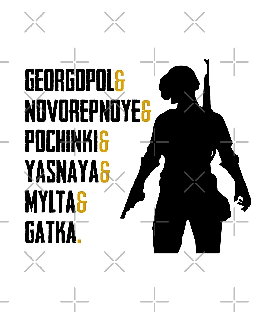 Pochinki, Gatka, Mylta by Nkioi