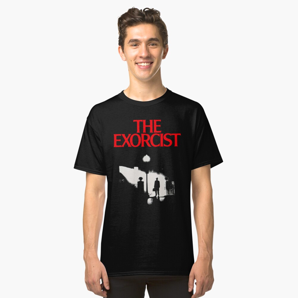 The Exorcist  Classic T-Shirt Front