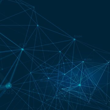 Connected polygons plexus by maximgertsen