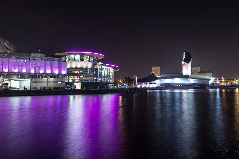 Media City Manchester And Lowrie Centre 2 by Paul Madden