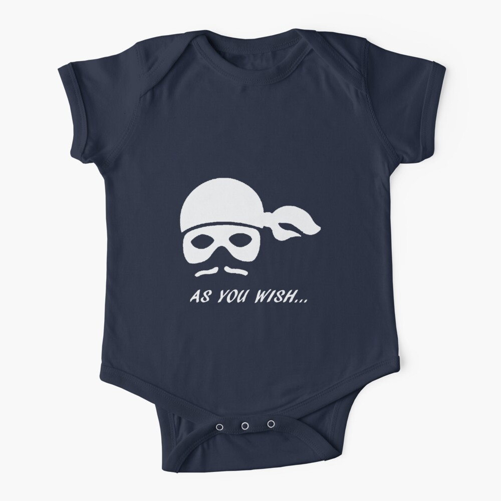 The princess bride- As you wish Baby One-Piece