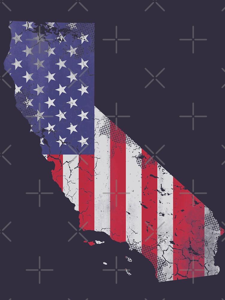 California United States Flag by frittata