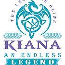 Legend T-shirt - Legend Shirt - Legend Tee - KIANA An Endless Legend by wantneedlove