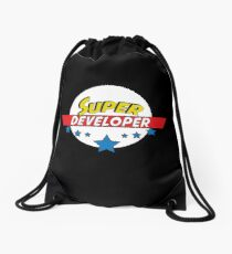 Super Developer, #Developer  Drawstring Bag