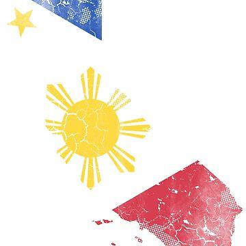California Filipino Flag by frittata