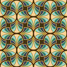 Geometric Pattern: Art Deco: Curve: Dream by * Red Wolf