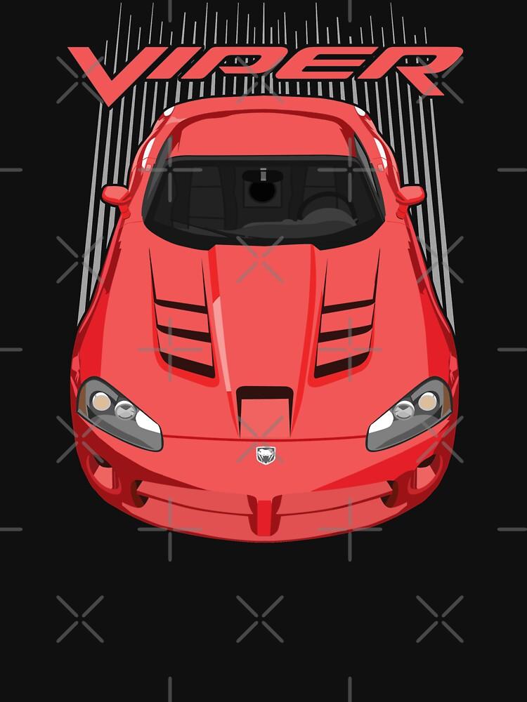 Viper SRT10-RED  by V8social