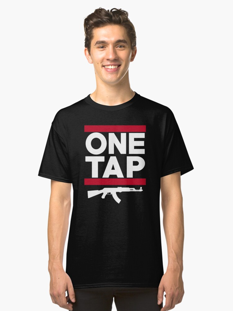 Couter Strike One Tap Classic T-Shirt Front