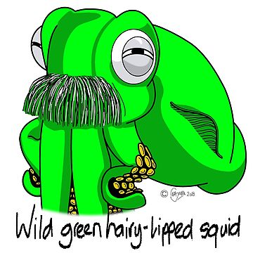Hairy-Lipped Squid #4 by MALC-OLM