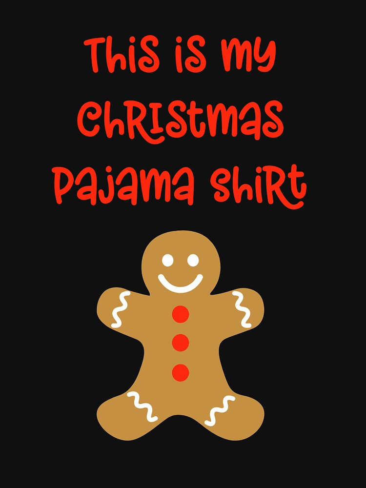Cute This Is My Christmas Pajama Shirt by 64thMixUp