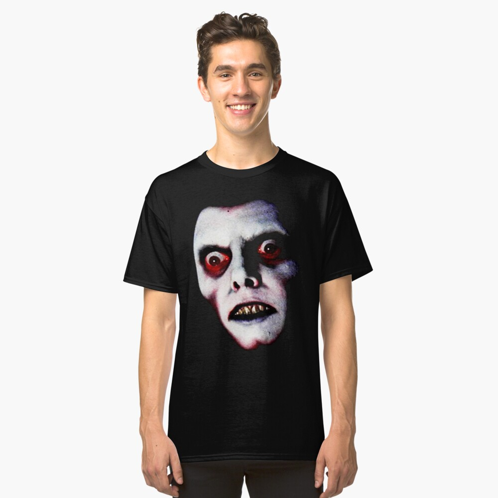 The Exorcist Captain Howdy Pazuzu  Classic T-Shirt Front