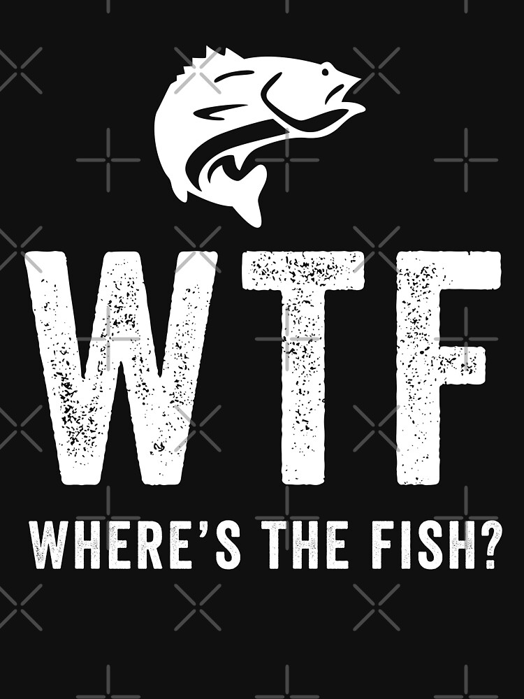 WTF Where's The Fish by with-care