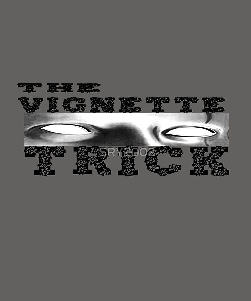 the vignette trick T-Shirt by SRY2002