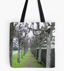 Tree Avenue Tote Bag