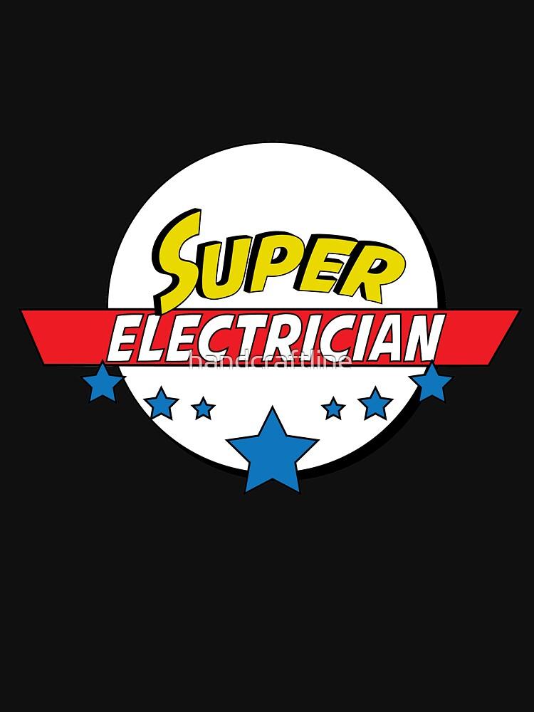 Super electrician, #electrician  by handcraftline