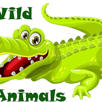 Wild Animals - Crocodile by Schemm