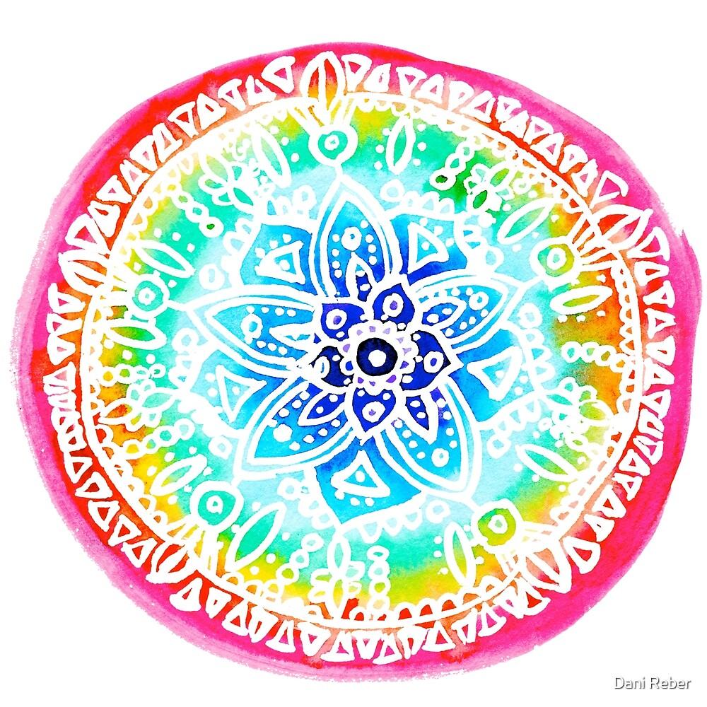 Watercolor Chakra Mandala by DJCustoms
