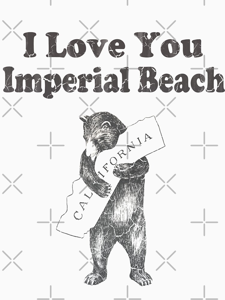 I Love You Imperial Beach California by frittata