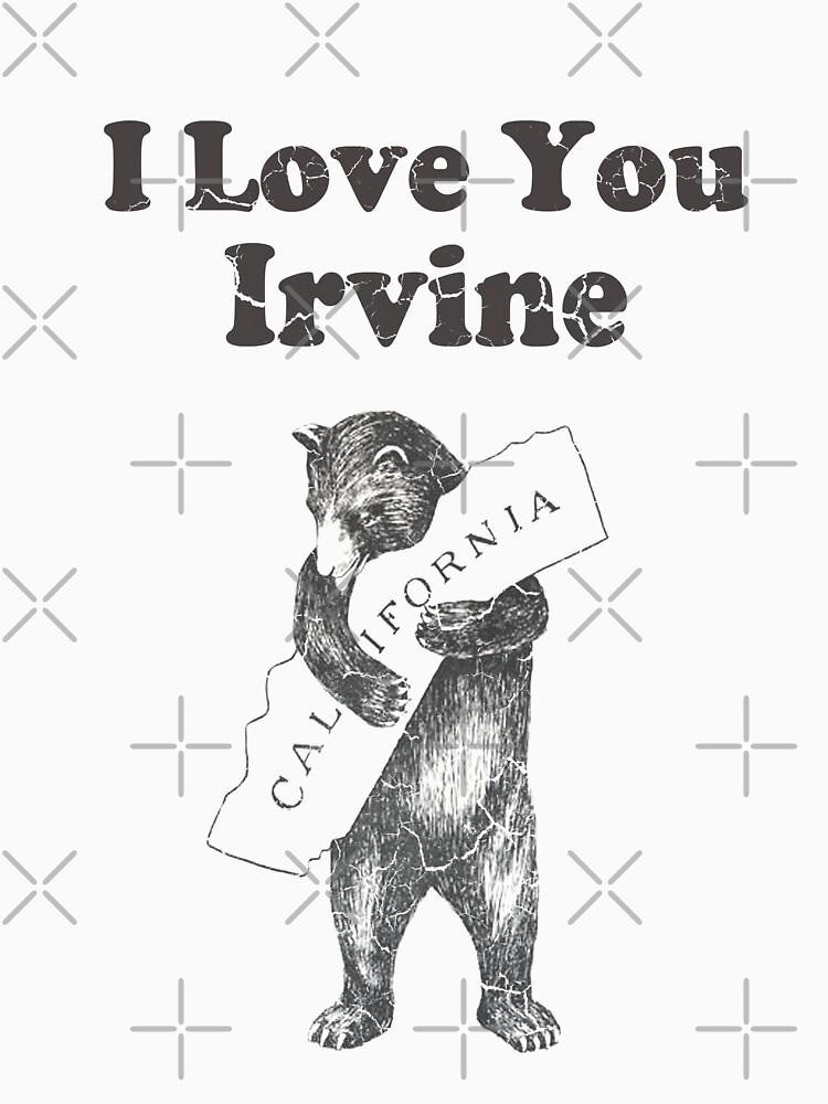 I Love You Irvine California by frittata