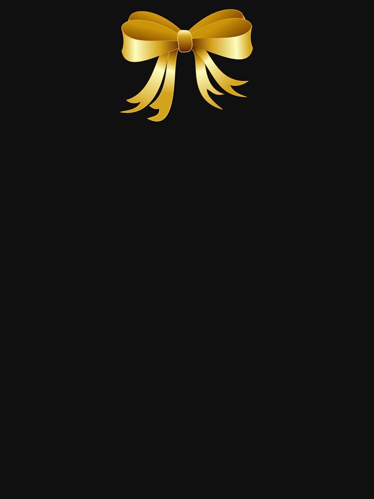 Present Ribbon Gold by MartinV96