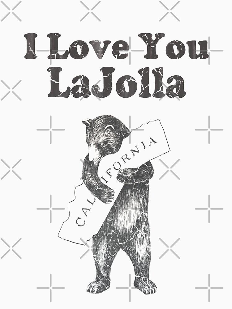 I Love You La Jolla California by frittata