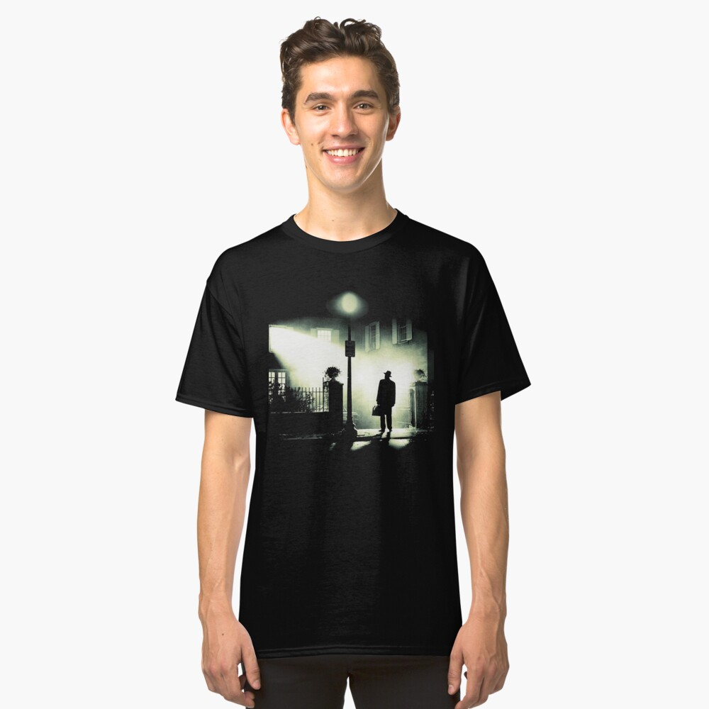 The Exorcist Arrival Scene Classic T-Shirt Front