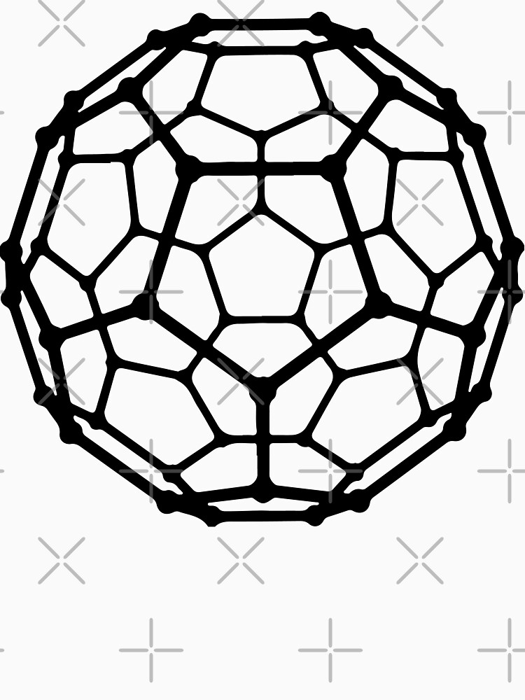 Fullerene Carbon Molecule by Illustreats