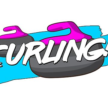 Curling (with exclamation mark!) by itscurling