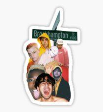 Brockhampton - Iridescence Sticker