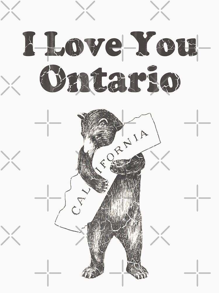 I Love You Ontario California by frittata