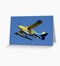 Mechanical Bird: DeHavilland DHC-3 Turbine Single Otter Greeting Card