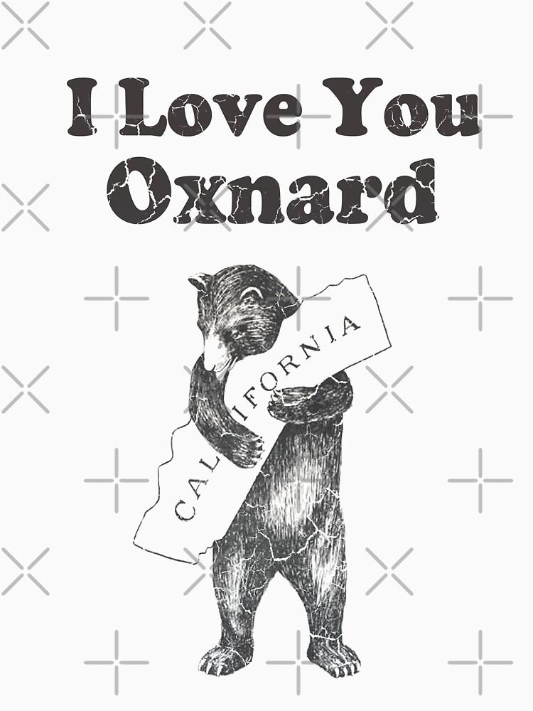 I Love You Oxnard California by frittata
