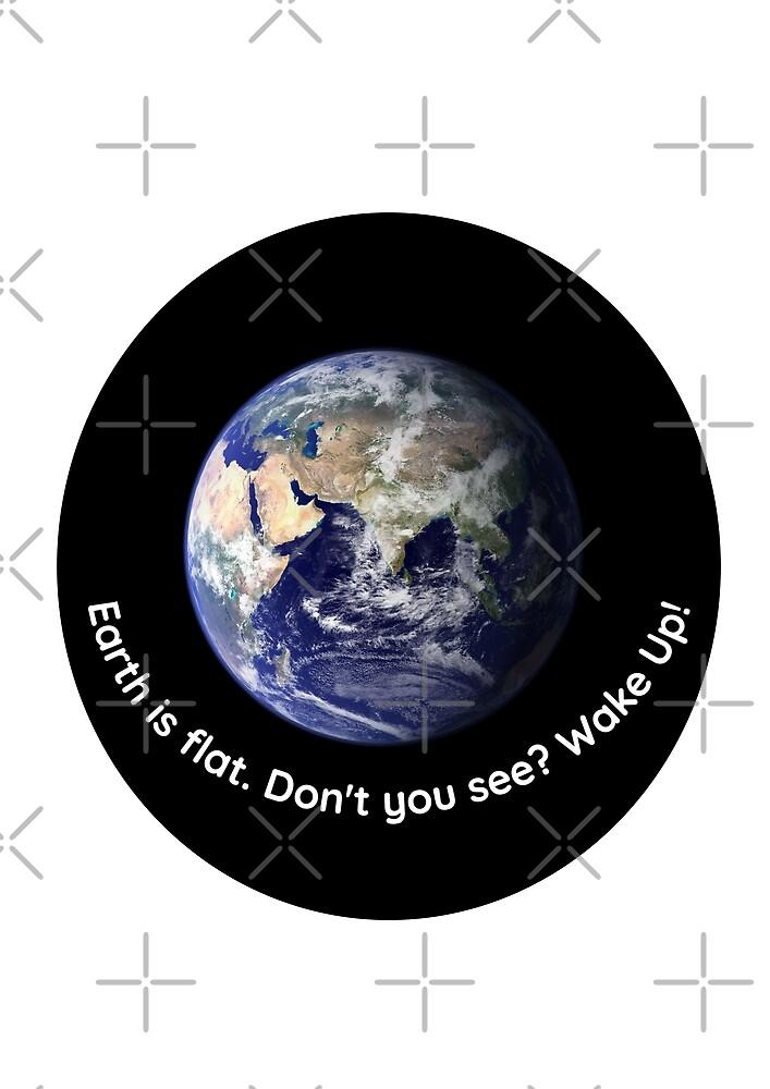 Earth IS flat by mycko