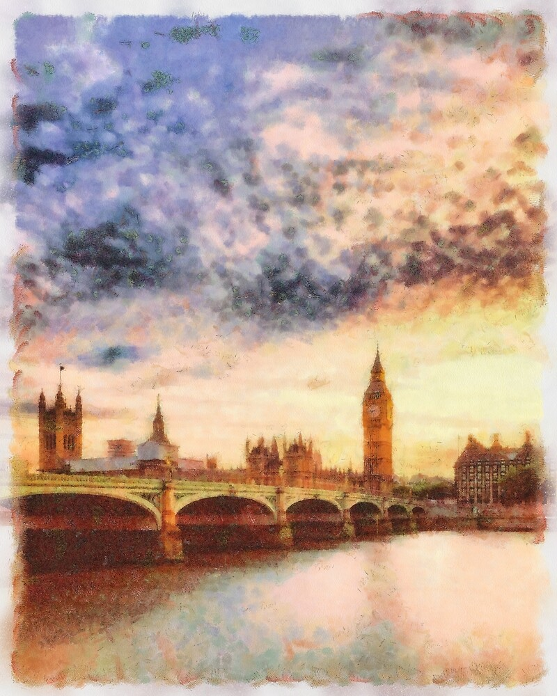 Big Ben, Parliament, London, England by SerpentFilms