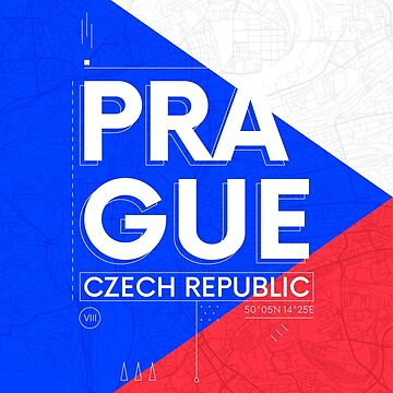 Prague travel illustration by maximgertsen
