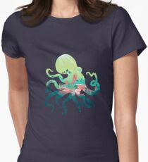 Wonder Sea Women's Fitted T-Shirt