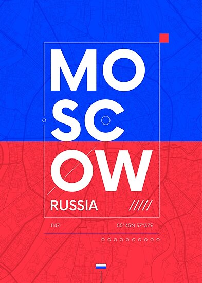 Moscow travel illustration by maximgertsen