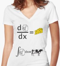 Differentiation in a new form  Women's Fitted V-Neck T-Shirt