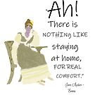 Jane Austen Home Comforts Quote by Ceri Clark