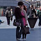 Street Kissing by dhphotography