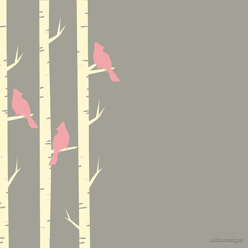 Birds in the Trees - Study 2 by willowdesigns