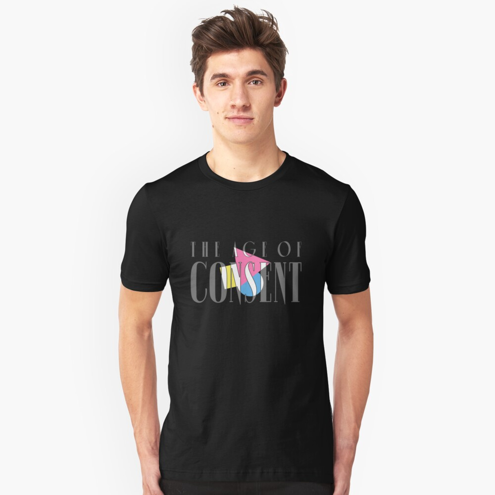 The Age of Consent Unisex T-Shirt Front