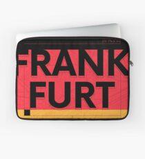 Frankfurt travel illustration Laptop Sleeve