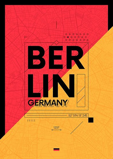 Berlin travel illustration by maximgertsen