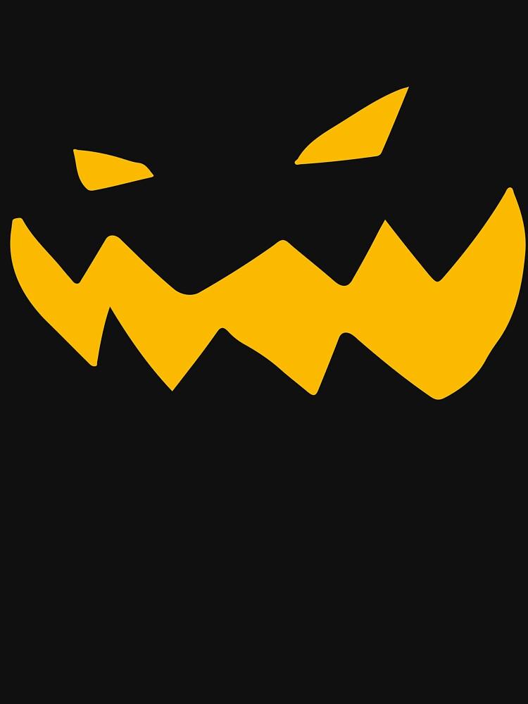 Halloween pumpkin grotesque by Layoutman