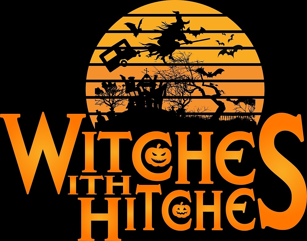 Halloween Witches With Hitches by O2ks