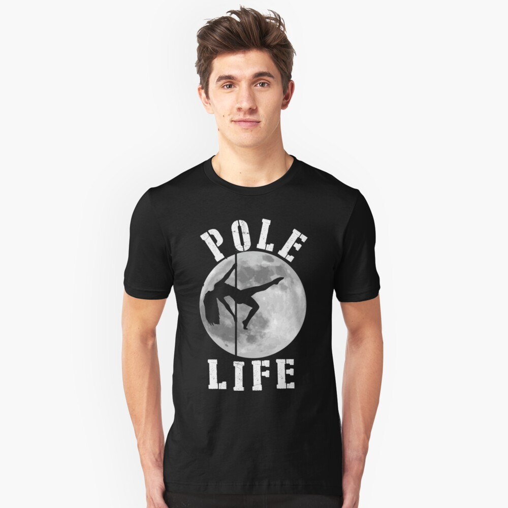 Pole Dance Unisex T-Shirt Front